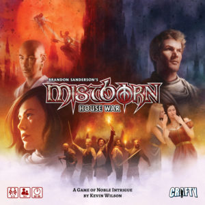 Mistborn: House War cover